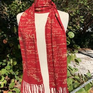 Music lovers Cashmere Scarf